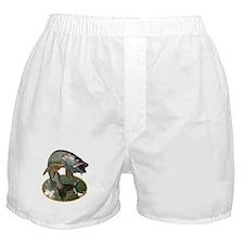 Musky Fishing Boxer Shorts
