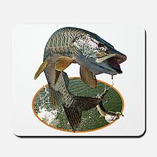 Musky Fishing Mousepad