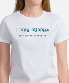 I Love Puppies Women's T-Shirt