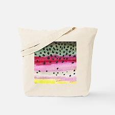 Rainbow Trout Skin Fishing Tote Bag