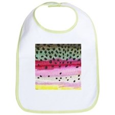 Rainbow Trout Skin Fishing Bib