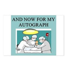 funny surgeon jokes Postcards (Package of 8)