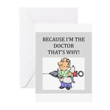 Doctor's office Greeting Cards (Pk of 20)