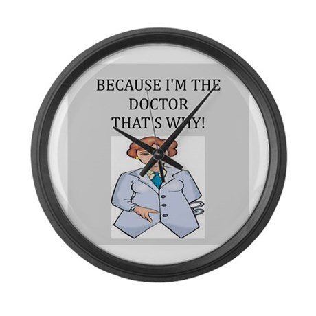 Doctor's office Large Wall Clock
