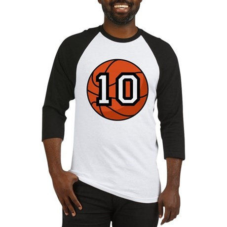 Basketball Player Number 10 Baseball Jersey