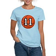 Basketball Player Number 11 T-Shirt