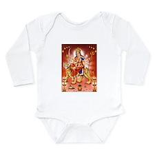 Cute Hindi Long Sleeve Infant Bodysuit