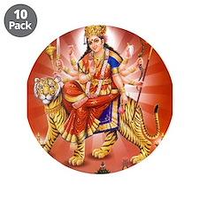 """Unique Hindu om 3.5"""" Button (10 pack)"""