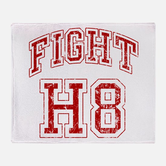 Fight H8 Throw Blanket