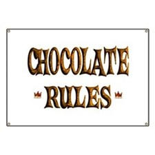 Chocolate Rules Banner