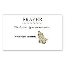 High-Speed Prayer Decal