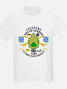Infantry - Squad Leader - 3rd Infantry T-Shirt