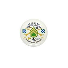 Infantry - Squad Leader - 3rd Infantry Mini Button