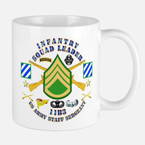 Infantry - Squad Leader - 3rd Infantry Mug