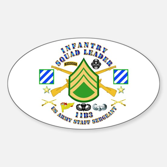 Infantry - Squad Leader - 3rd Infantry Decal