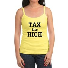 TAX the RICH Tshirts and Products Jr.Spaghetti Strap