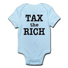 TAX the RICH Tshirts and Products Infant Bodysuit