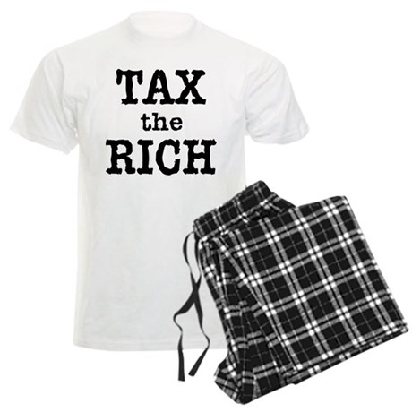TAX the RICH Tshirts and Products Men's Light Paja