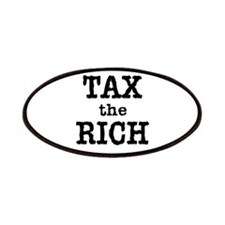 TAX the RICH Tshirts and Products Patches