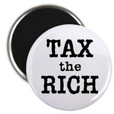 "TAX the RICH Tshirts and Products 2.25"" Magnet (10"