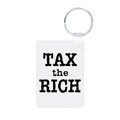 TAX the RICH Tshirts and Products Aluminum Photo K