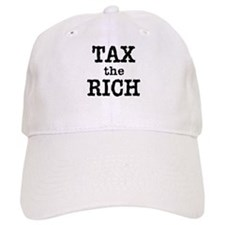 TAX the RICH Tshirts and Products Baseball Cap