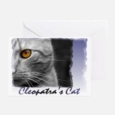 Famous Cats - Cleopatra's Cat Greeting Cards (Pk o