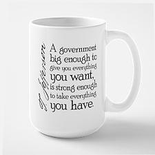 Jefferson Big Government Mug