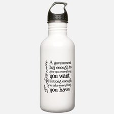 Jefferson Big Government Sports Water Bottle