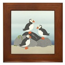Puffin Framed Tile