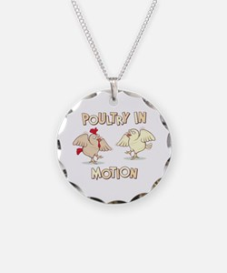 """""""Poultry in Motion"""" Necklace"""