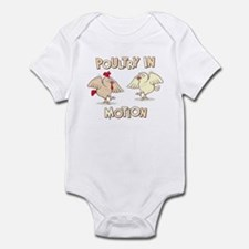 """Poultry in Motion"" Infant Bodysuit"