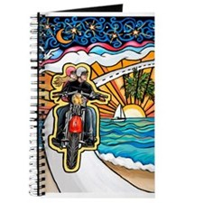 Motorcycle Skyway #1 Journal