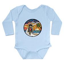 Motorcycle Skyway #1 Long Sleeve Infant Bodysuit