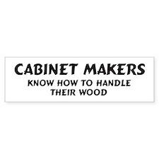 Cabinet Makers Bumper Bumper Sticker