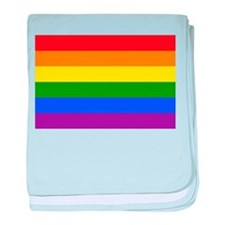 Cute Gay pride baby blanket