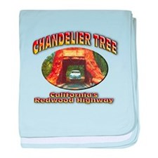 Chandelier Tree baby blanket