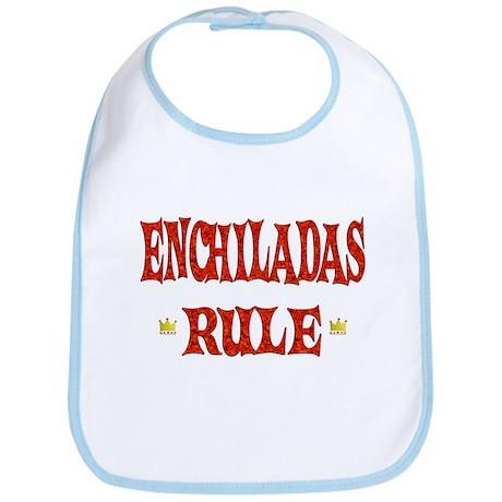 Enchiladas Rule Bib