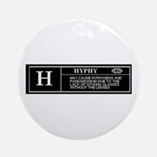 Rated H (HYPHY) Ornament (Round)