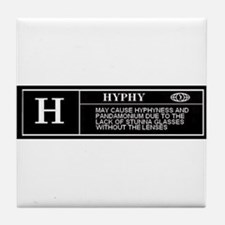 Rated H (HYPHY) Tile Coaster