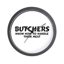 Butchers Wall Clock