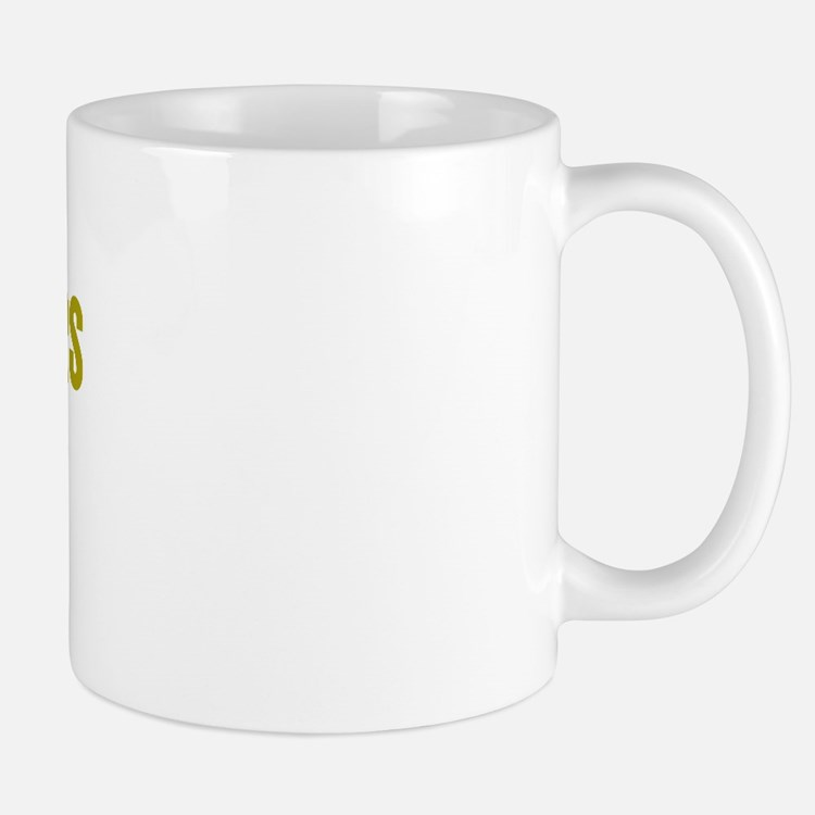 I Poke Badgers with Spoons Mug