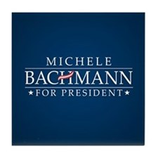 Michele Bachmann Tile Coaster