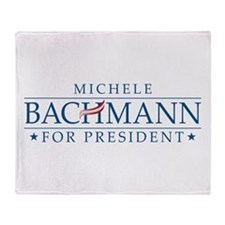 Michele Bachmann Throw Blanket
