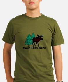 Customized Moose WoodsT's T-Shirt