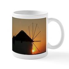 Mykonos Windmills at sunset Mug