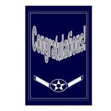Congratulations on USAF Airma Postcards (Package o
