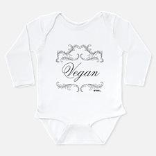 VEGAN 03 - Long Sleeve Infant Bodysuit