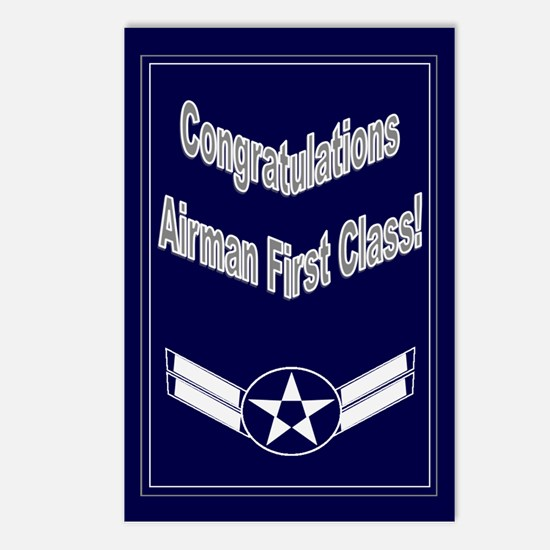 Congratulations Air Force Air Postcards (Package o