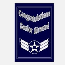 Congratulations USAF Senior A Postcards (Package o